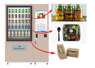 Chiny Winnsen Salad Jar Vending Machine, Cupcake Vneding Machines With Belt System fabryka