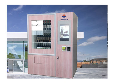 Chiny Multi Language Beer Alcohol Wine Automat do sprzedaży Champagne Bottle Automat dystrybutor